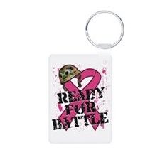 Battle Breast Cancer Keychains