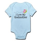 I Love My Godmother Onesie