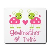 Godmother Of Twins Mousepad