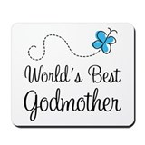 World's Best Godmother Mousepad