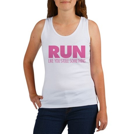 Run Like You Stole Something Women's Tank Top