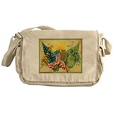 American Irish Messenger Bag