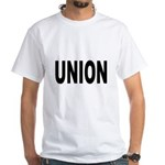 Union White T-Shirt