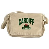 Cardiff Wales Messenger Bag