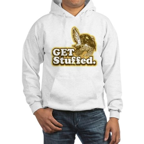 Get Stuffed Turkey Hooded Sweatshirt