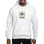 SANFACON Family Crest Hooded Sweatshirt