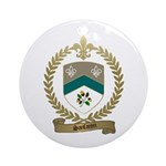 SANFACON Family Crest Ornament (Round)