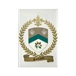 SANFACON Family Crest Rectangle Magnet (100 pack)