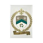 SANFACON Family Crest Rectangle Magnet (100 pack)