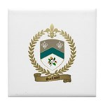 SANFACON Family Crest Tile Coaster