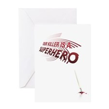 Superhero Greeting Card
