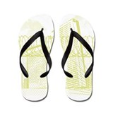Wear I'm From Sunrise Flip Flops