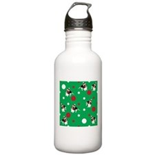 Holiday Bassets Water Bottle