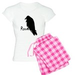 Black Raven on Raven Women's Light Pajamas