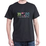 Peace, Love, Malti Tzus Dark T-Shirt
