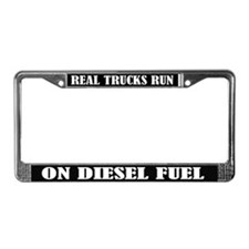 Real Trucks Quote License Plate Frame