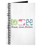 Peace, Love, Morkies Journal