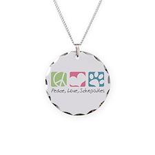Peace, Love, Schnoodles Necklace