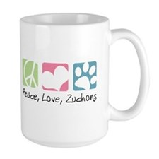 Peace, Love, Zuchons Mug