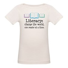 Literacy Reading Quote Tee