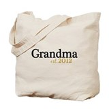 New Grandma Est 2012 Tote Bag