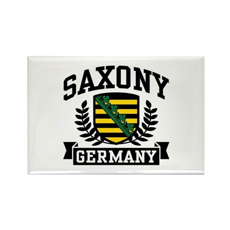 Saxony Germany Rectangle Magnet