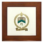 SANSFACON Family Crest Framed Tile