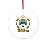 SANSFACON Family Crest Ornament (Round)