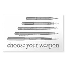 Choose Your Weapon Decal