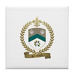 SANSFACON Family Crest Tile Coaster