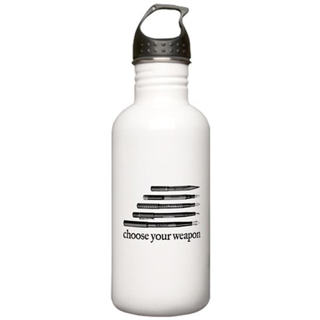 Choose Your Weapon Stainless Water Bottle 1.0L