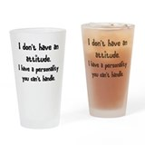personality Drinking Glass