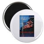 Proud American Flag Magnet