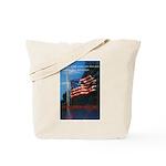 Proud American Flag Tote Bag