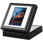 Proud American Flag Keepsake Box