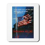 Proud American Flag Mousepad