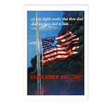 Proud American Flag Postcards (Package of 8)