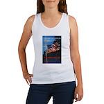 Proud American Flag Women's Tank Top