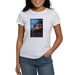 Proud American Flag (Front) Women's T-Shirt