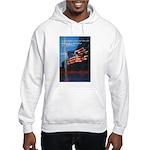Proud American Flag Hooded Sweatshirt