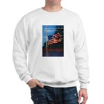 Proud American Flag Sweatshirt