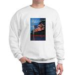 Proud American Flag (Front) Sweatshirt