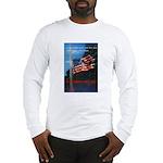 Proud American Flag Long Sleeve T-Shirt