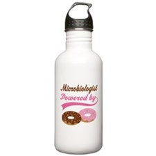 Microbiologist Gift Doughnuts Water Bottle
