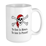 To Arr Is Pirate Skull Coffee Mug