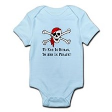 To Arr Is Pirate Skull Infant Bodysuit