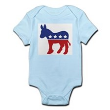Democrat Donkey Infant Creeper