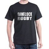 Black 'Gamecock Rugby' Traditional Shirt