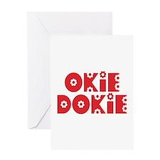 OkieDokie_Re_Red Greeting Card