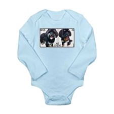 Mr Chewi Long Sleeve Infant Bodysuit